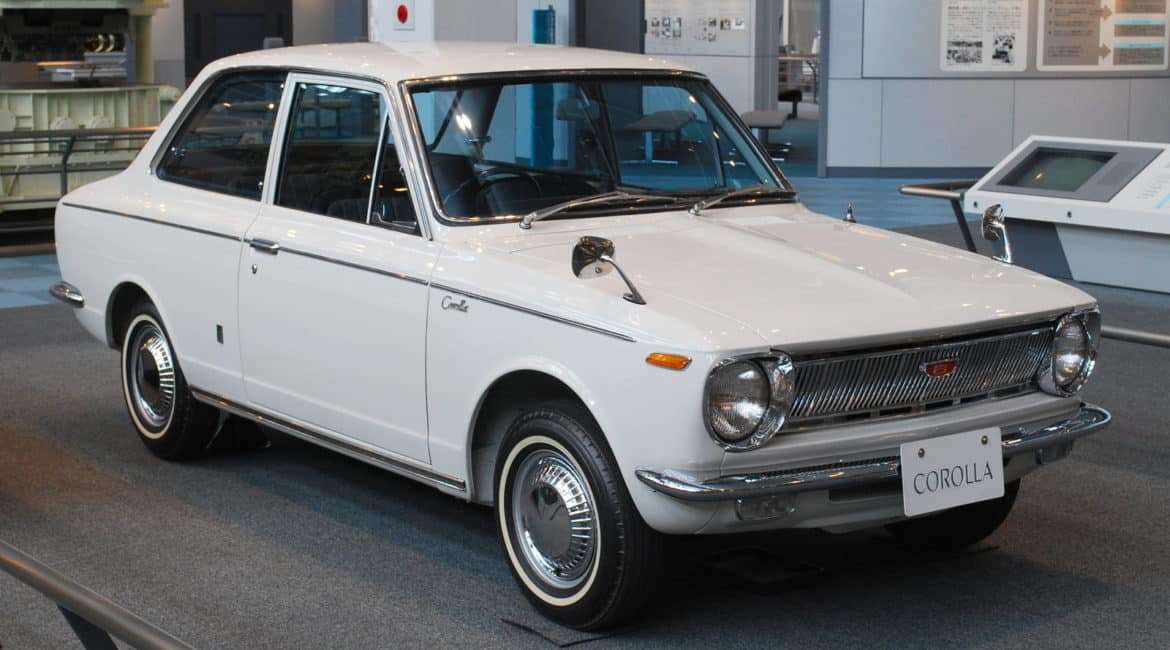 Toyota Corolla Turned 50 on Saturday